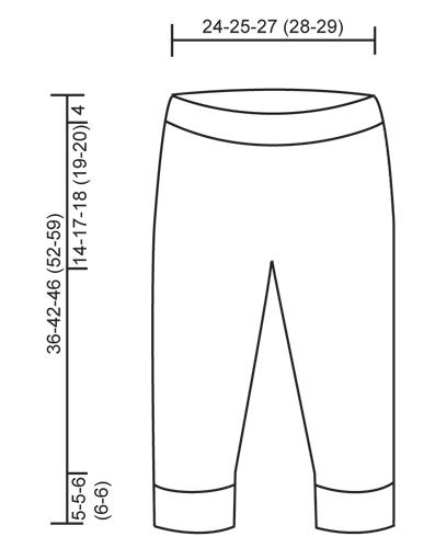 выкройка брюк мальчика 92 см